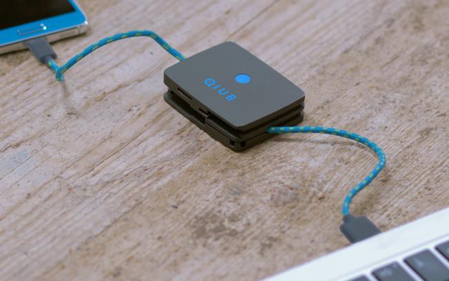 Qiub 3合1智能充電線5