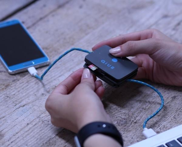 Qiub 3合1智能充電線9