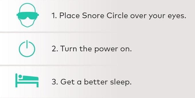 SNORE CIRCLE 智能止鼾眼罩 8