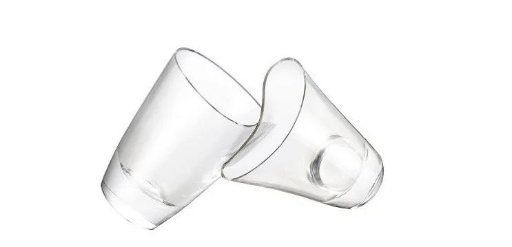 日本 shupua 透明仿玻璃矽膠杯7