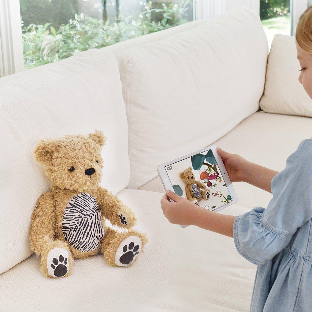 紐西蘭 Seedling Parker 擴增實境小熊14