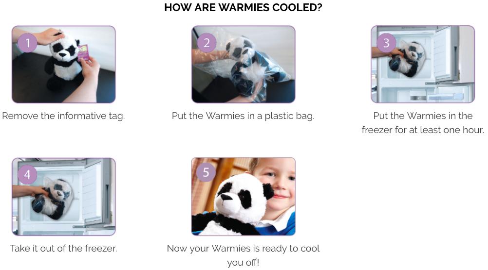 英國 Warmies 暖暖安睡娃娃2