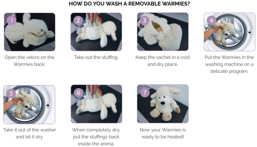英國 Warmies 暖暖安睡娃娃3