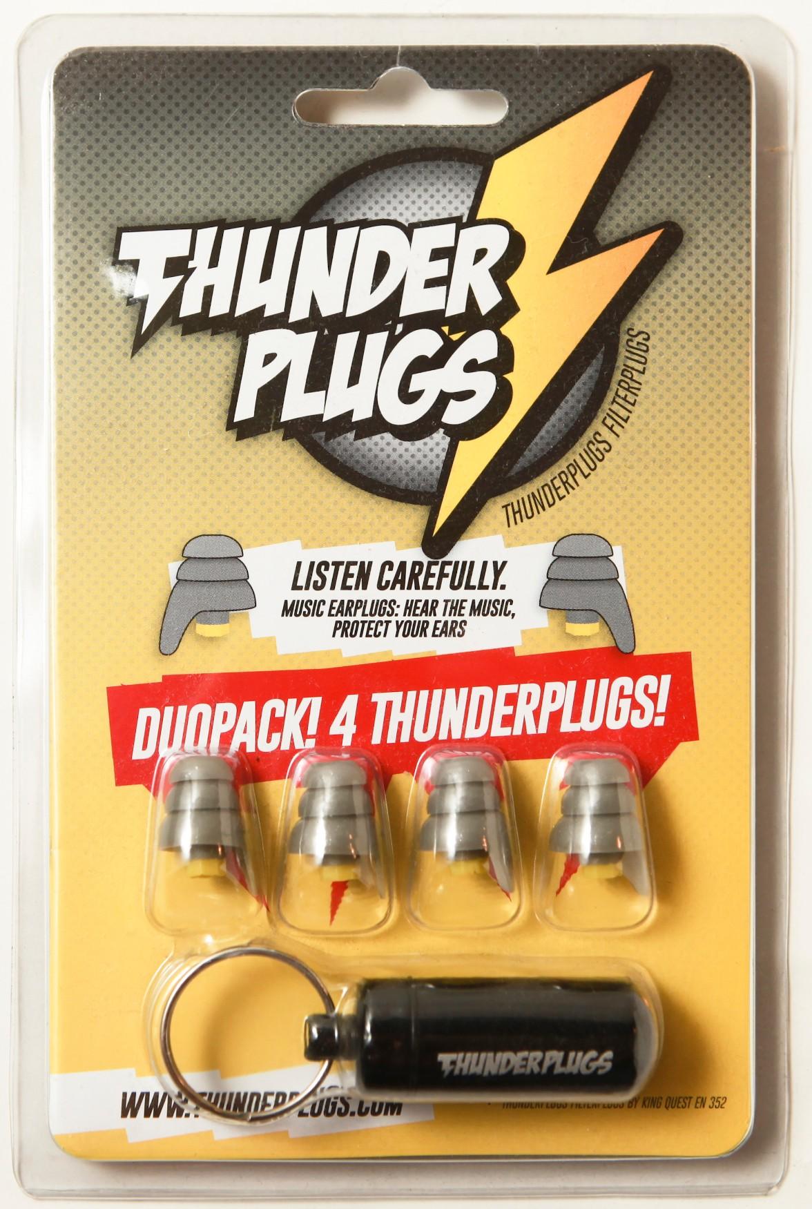 荷蘭 Thunderplugs 專業音樂降躁耳塞21