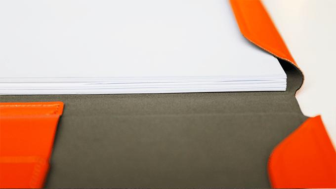 荷蘭 allocacoc A4收納式磁性筆記本 16
