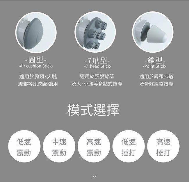 台灣enerpad五段式無線按摩器 Changeable
