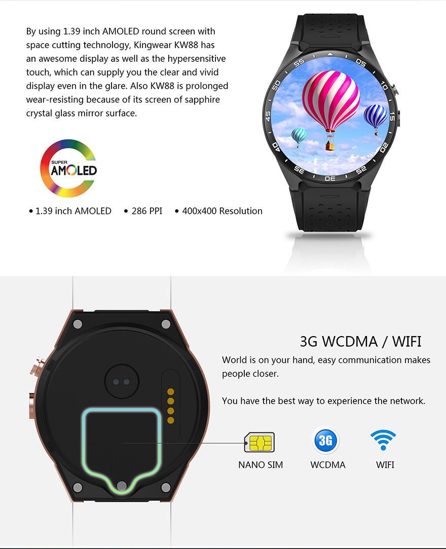 King Wear 史上功能最強 智能手錶 Eng2