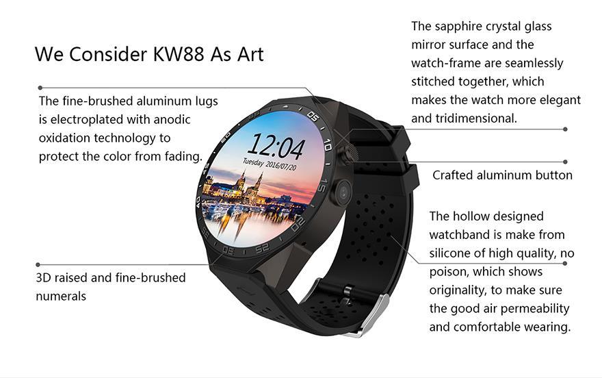 King Wear 史上功能最強 智能手錶 Eng5
