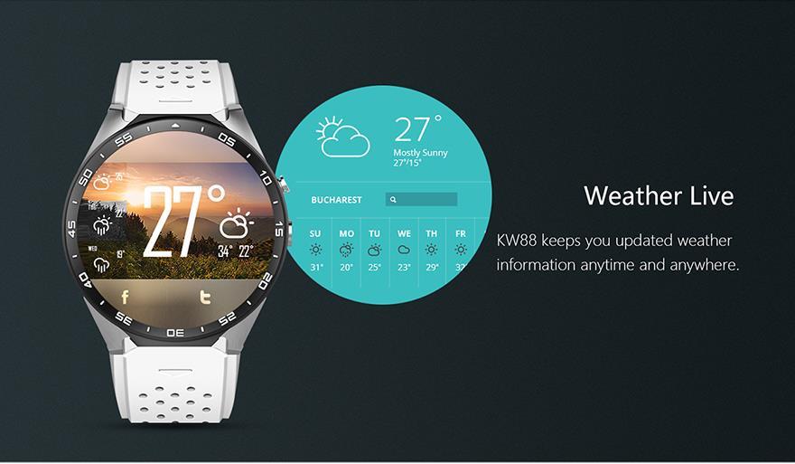 King Wear 史上功能最強 智能手錶 Eng6