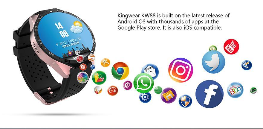 King Wear 史上功能最強 智能手錶 Eng9