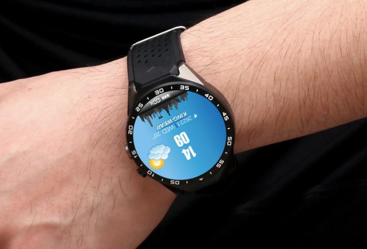 King Wear 史上功能最強 智能手錶 black 1