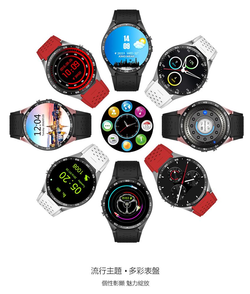 King Wear 史上功能最強 智能手錶16