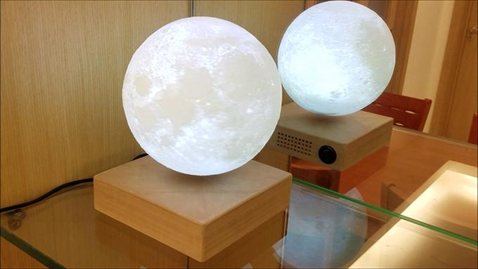 Levimoon 懸浮月球燈16