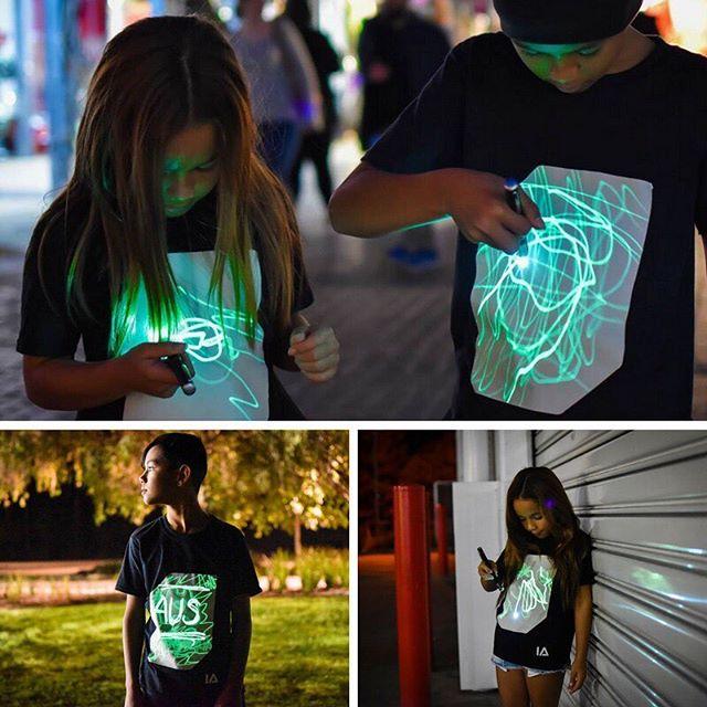 英國 Illuminated Apparel 螢光塗鴉T恤11
