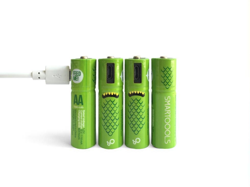 西班牙 Smartools USB充電電池10