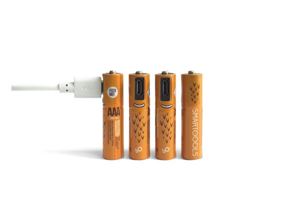 西班牙 Smartools USB充電電池12