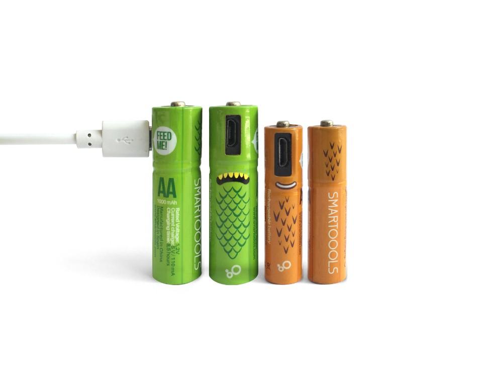 西班牙 Smartools USB充電電池13