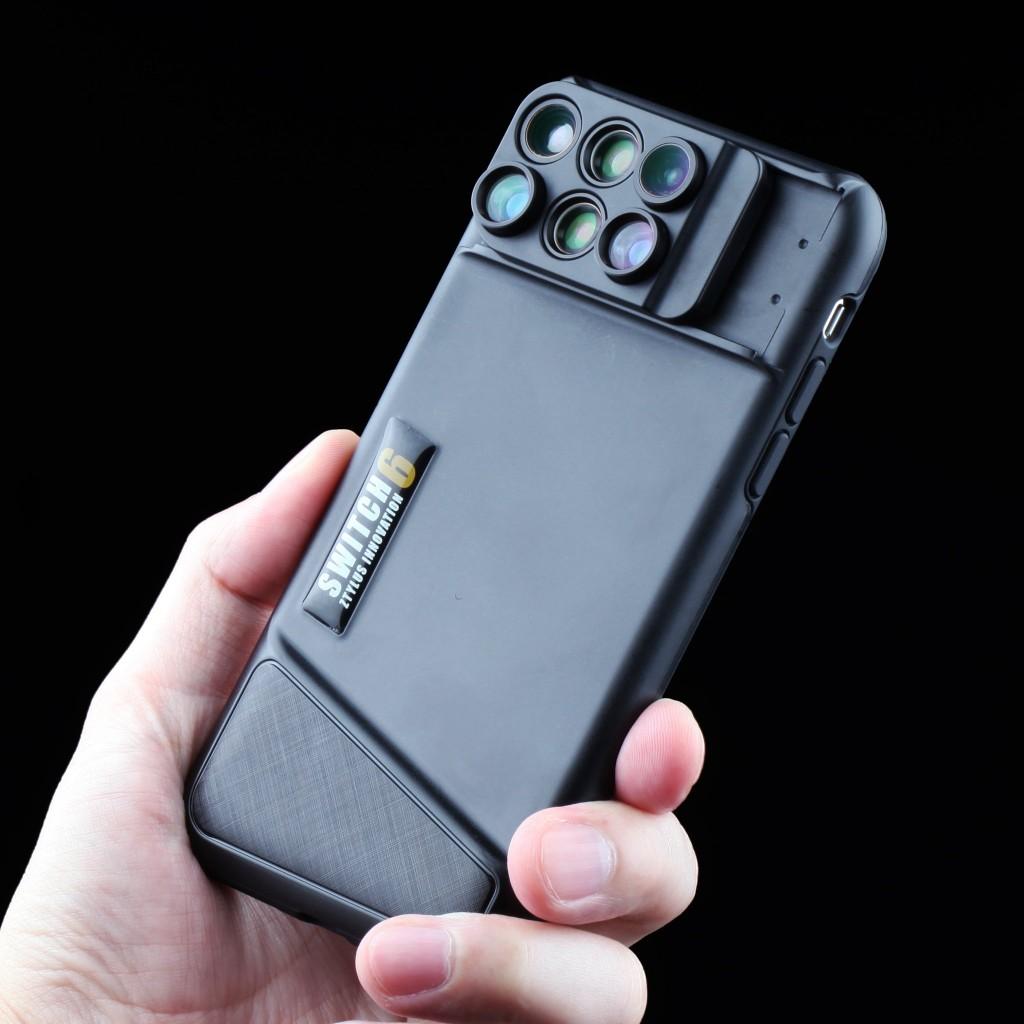 美國 Switch 6 六合一鏡頭 手機殼25