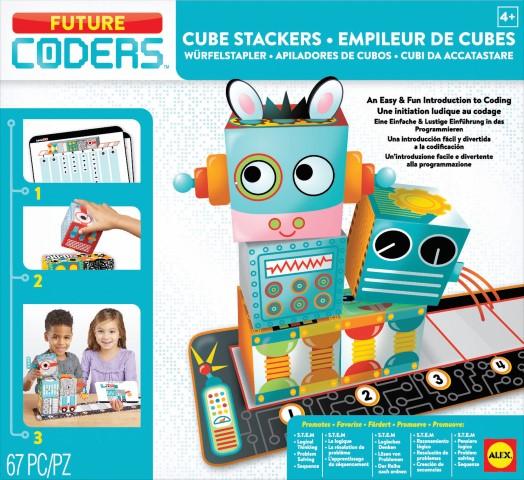 Alex Future Coders 編程遊戲 – 組合立方 Cube Stackers