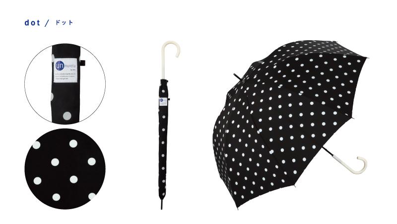 日本 Unnurella 2018年款 Slim 抖掉水珠雨傘 - 長傘 11