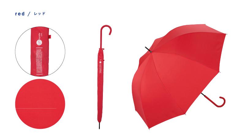 日本 Unnurella 2018年款 Slim 抖掉水珠雨傘 - 長傘 4