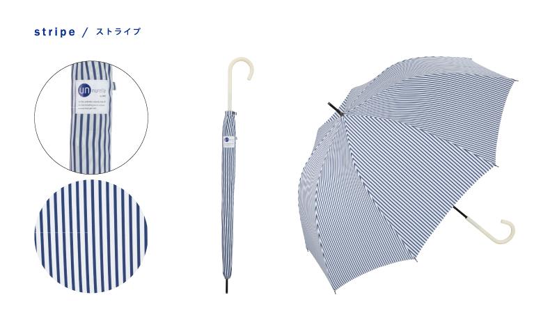 日本 Unnurella 2018年款 Slim 抖掉水珠雨傘 - 長傘 8