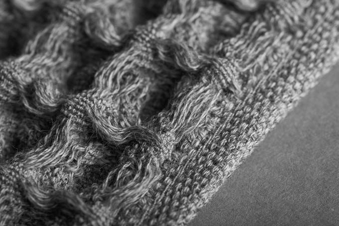 美國 Onsen Towel 重新定義 灰色 Close up