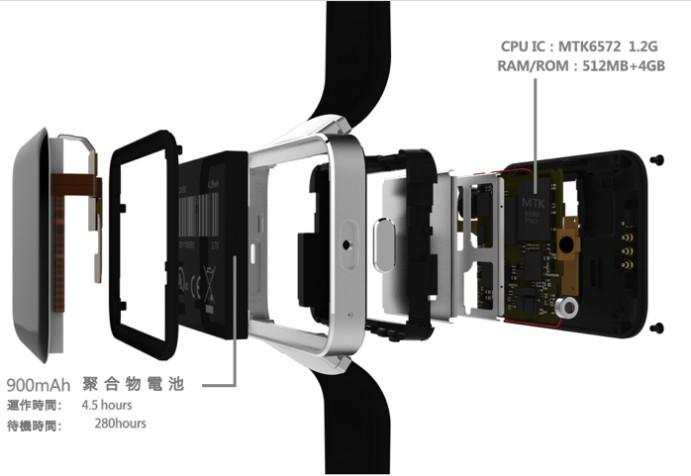 Fivice 屏幕最大 智能手錶17