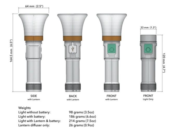 LANTERN 3合1 手電筒1