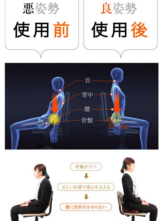 日本 Bagu 護腰坐墊1