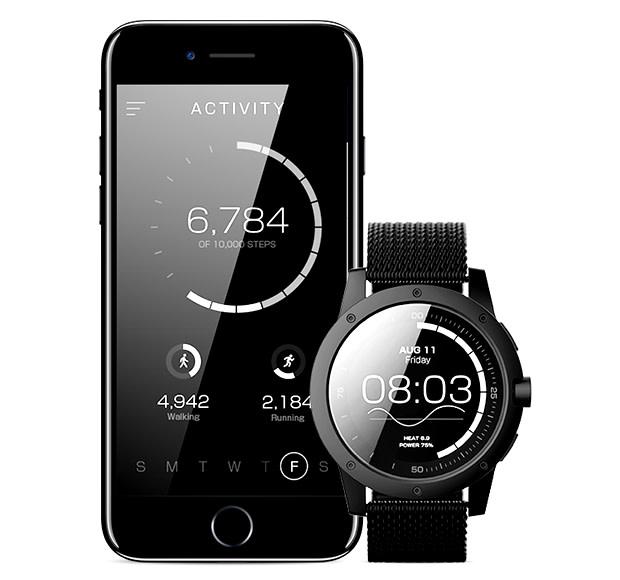 美國 MATRIX PowerWatch 體溫充電 智能手錶 9