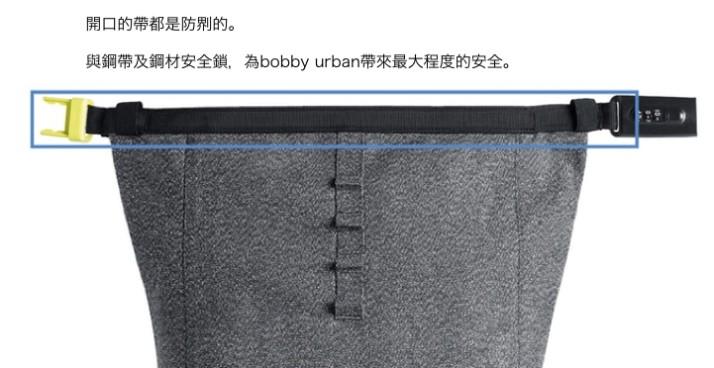 荷蘭 Bobby Urban 防盜防水 背包14