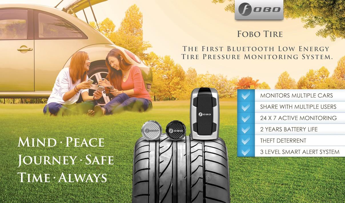 FOBO Tire 汽車專用 四輪胎壓偵測器 2