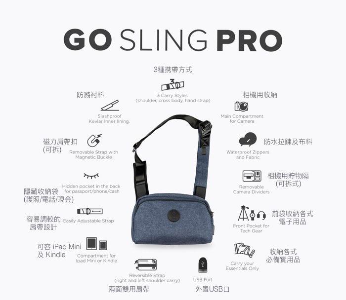 01 alpaka 多功能防盜側肩包PRO Go Sling Pro Hong Kong 香港 Searching c  67 001--2   33555 221242