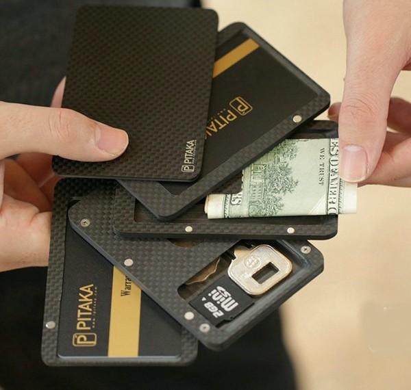 PITAKA 碳纖維磁力百變錢包 cover