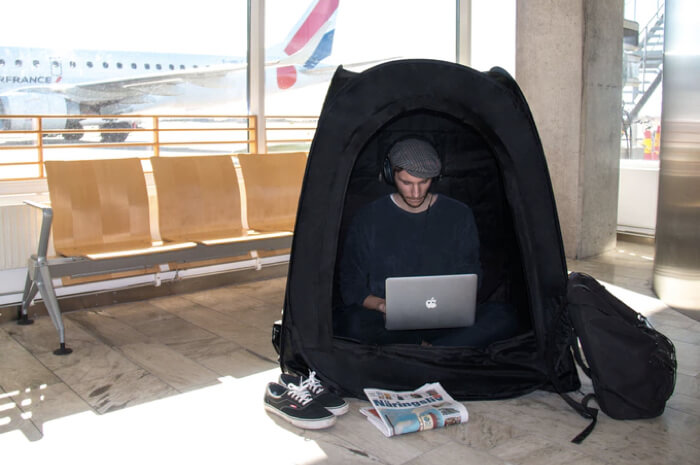 Tent 便攜私人帳篷 Sweden 瑞典 Pause Pod 香港 hong kong Searching C  20