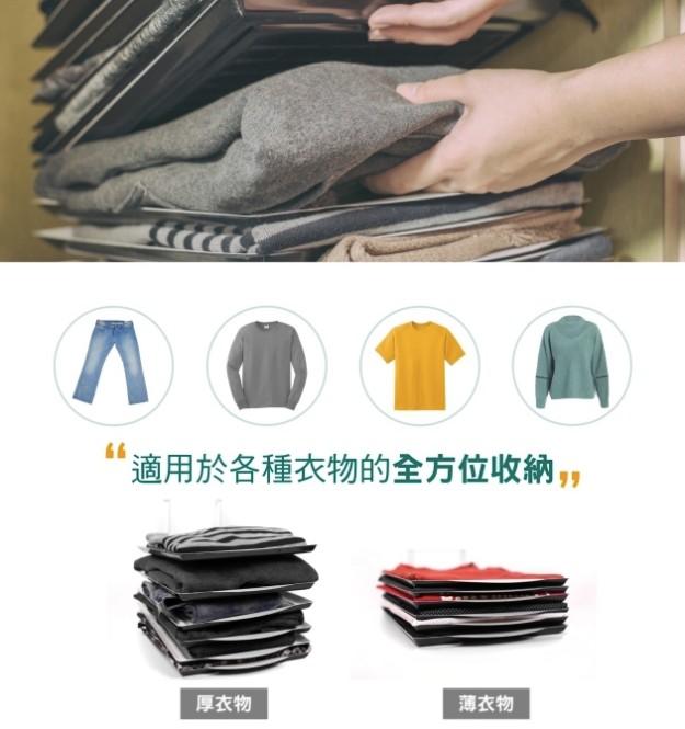Teebuluan 摺疊衣服收納層板  777