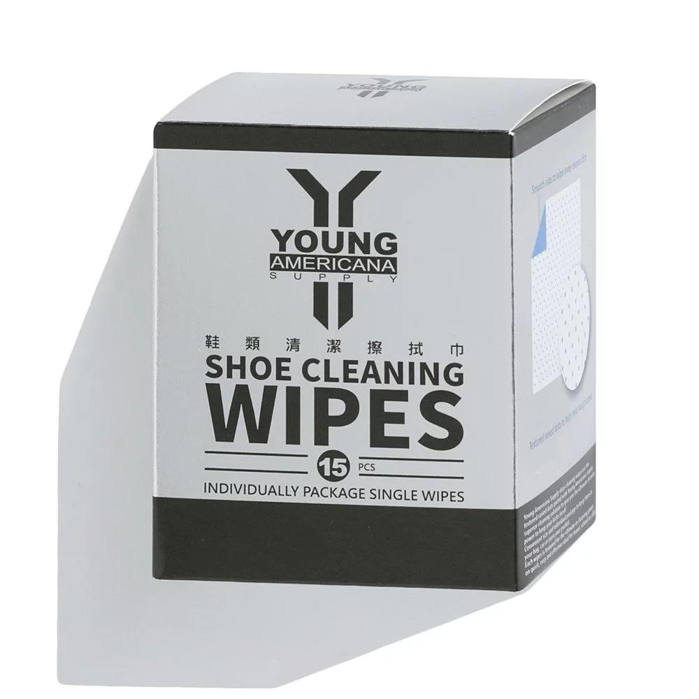 Y.A.S 抹鞋專用清潔濕紙5