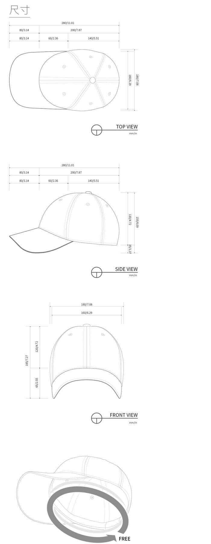 韓國 ZEROi 骨傳導棒球帽耳機 1 4 144