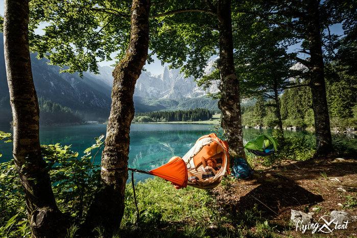 奧地利 FlyingTent  3合1多功能露營帳篷10