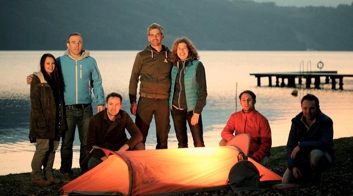 奧地利 FlyingTent  3合1多功能露營帳篷24