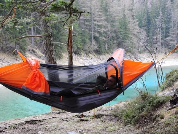 奧地利 FlyingTent  3合1多功能露營帳篷28