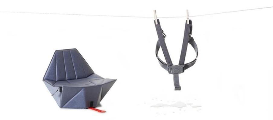 比利時 Bombol 平板大小 嬰兒摺椅34