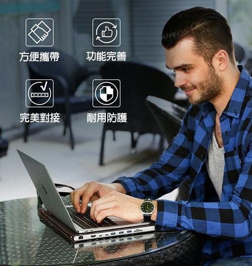 美國 DockCase 多接口 保護套1