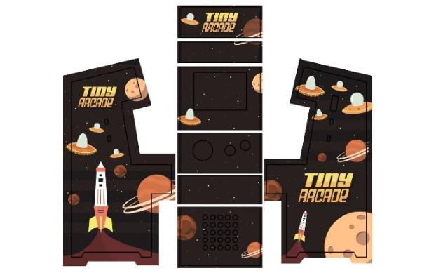 美國 Tiny Arcade 復古迷你街機27