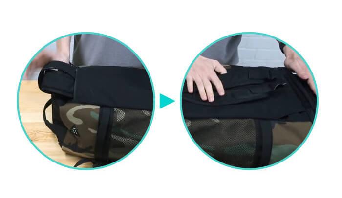 4thumbnail.008 301 ad-lib hong kong 香港 Searching C 三用萬能袋 背包 背囊 手提  Pack n' Go 3-way Bag 222