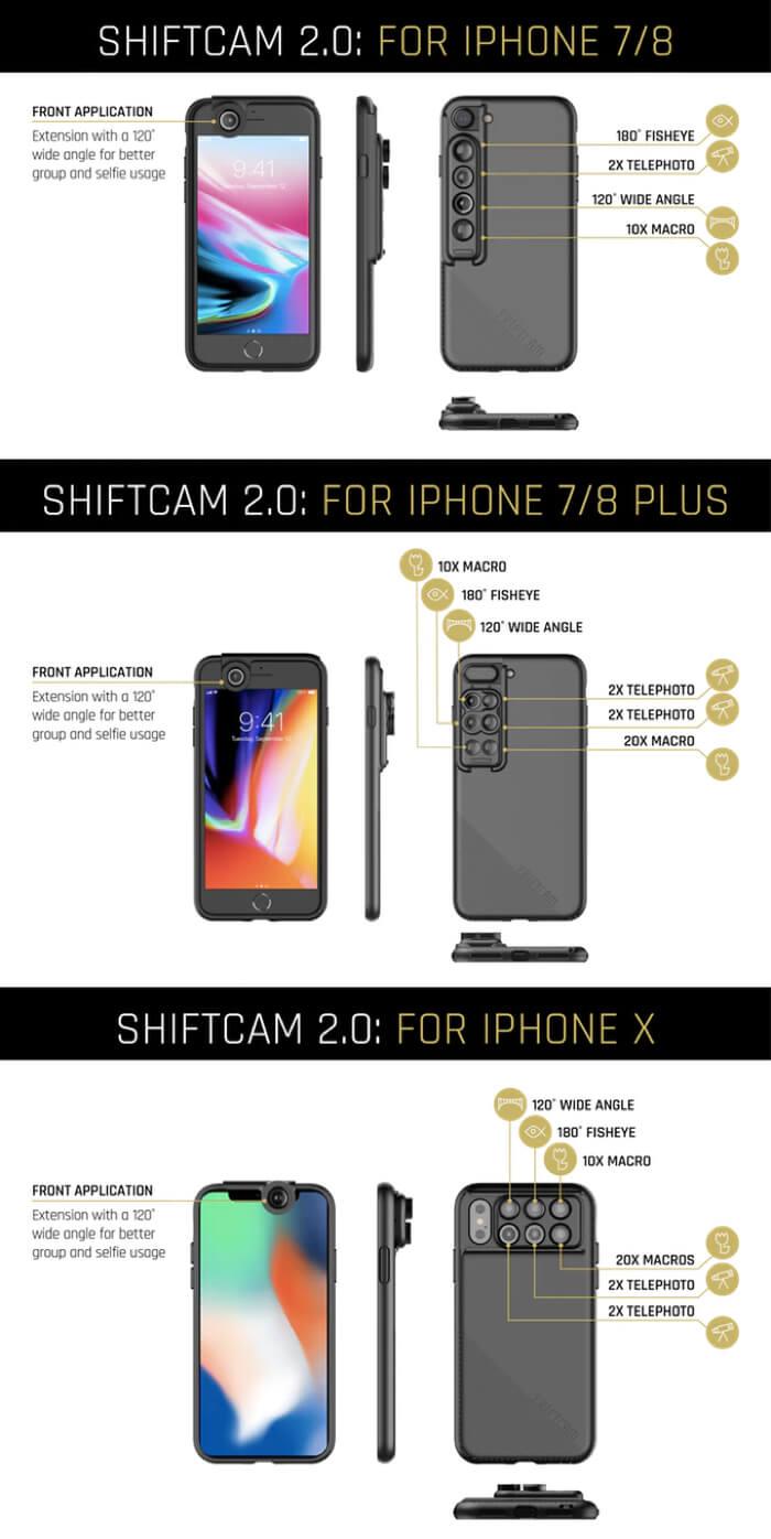 ShiftCam2.0 新一代 6合1 鏡頭手機殼 香港 hong kong searching c 7
