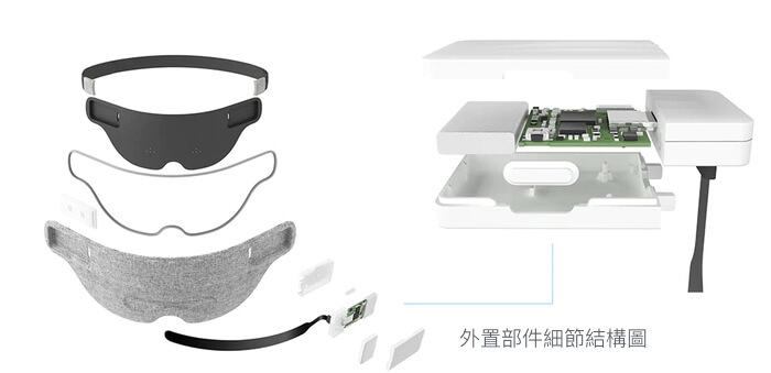 Luuna Intelligent Eye Mask AI調音師 睡覺眼罩 Searching C HK Hong Kong 香港  01 5