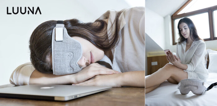Luuna Intelligent Eye Mask AI調音師 睡覺眼罩 Searching C HK Hong Kong 香港  01 11