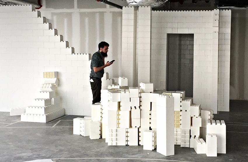 美國 Everblock Jr. 巨型紙板積木組3